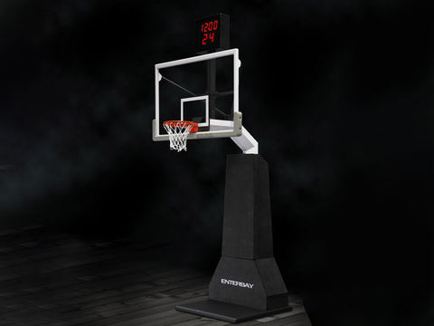 1/6 Scale Basketball Hoop With Shot Clock