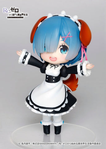 Re:Zero − Starting Life in Another World – Doll Crystal Rem Dog Ears Ver.