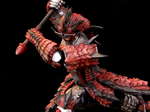 Monster Hunter Rathalos - Male Hunter 1/10 Scale Diorama