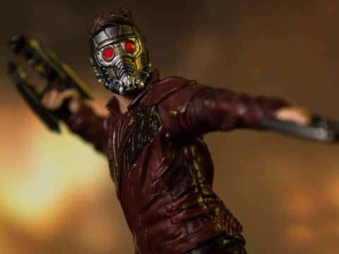 Pre Order Avengers: Infinity War Battle Diorama Series Star-Lord 1/10 Art Scale Statue - GeekLoveph