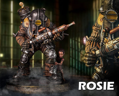 Gaming Heads - BioShock: Big Daddy-Rosie  Statue