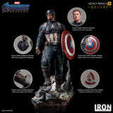 Avengers: Endgame Legacy Replica Captain America Deluxe 1/4 Scale