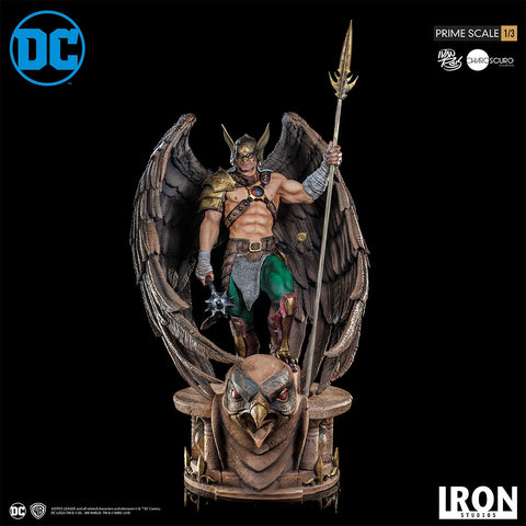 Hawkman Prime Scale 1/3 - DC Comics Series 4 by Ivan Reis CLOSED WINGS Version