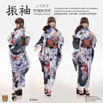 i8-C001A Cat 1/6 Furisode clothing set (includes head sculpt)