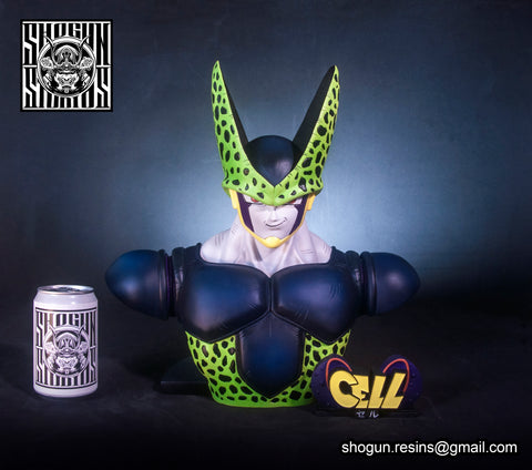 Shogun Studio: Perfect Cell 1/2 scale Bust