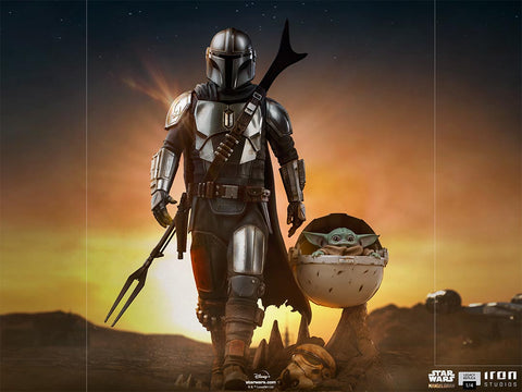 The Mandalorian and The Child Legacy Replica 1/4 Scale Statue