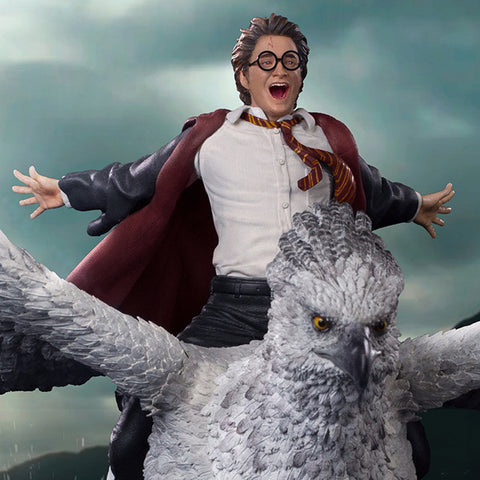 Harry Potter and Buckbeak Deluxe Art Scale 1/10