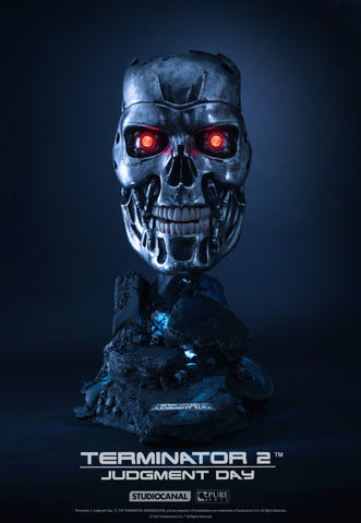 TERMINATOR: T800 ART MASK - LIMITED EDITION