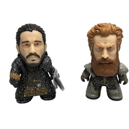 "Game Of Thrones TITANS: 3"" Jon Snow and Tormund Snowy Two Pack"
