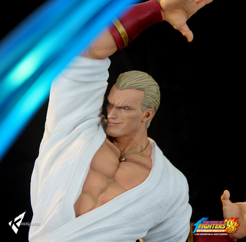 Geese Howard - The Villainous CEO 1/4 scale diorama