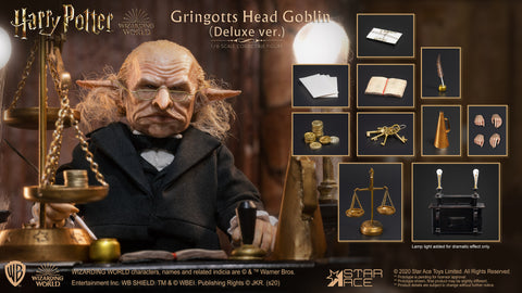 Gringotts Head Goblin 1/6 Scale Figure (DX version)