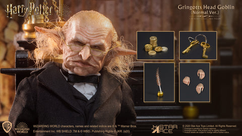 Gringotts Head Goblin 1/6 Scale Figure (Normal version)