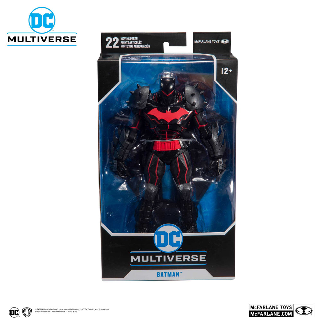 DC Armored Wave 1 Batman Hellbat Suit 7-Inch Action Figure Preorder For Jan.2020