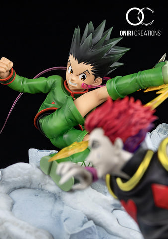 Gon vs Hisoka - Battle at the Heavens Arena
