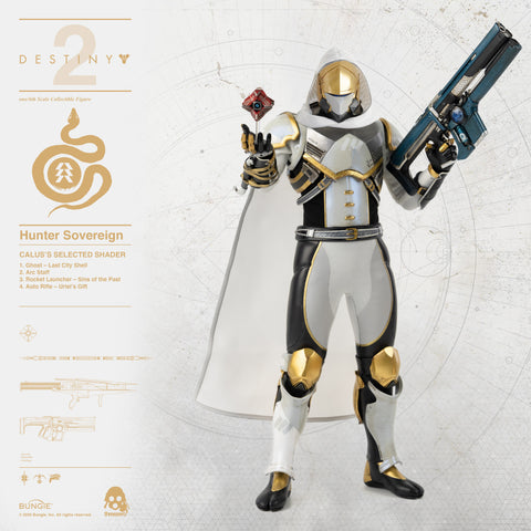 Destiny 2 Hunter Sovereign (Calus's Selected Shader) 1/6 Scale Collectible Figure