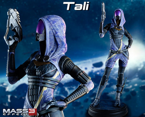 Gaming Heads - Mass Effect: Tali'Zorah vas Normandy Statue
