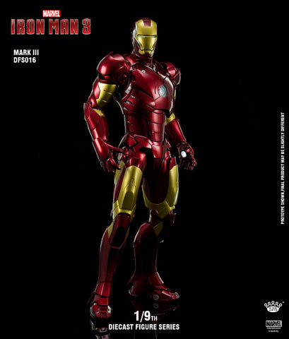 1/9 Diecast Iron Man Mark 3
