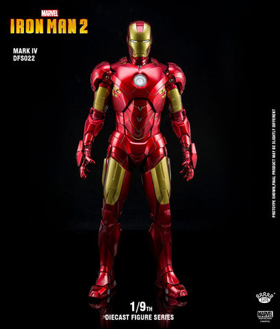 1/9 Diecast Iron Man Mark 4