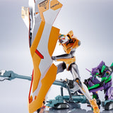 THE ROBOT SPIRITS SIDE EVA OPERATION YASHIMA REPRODUCTION POSITRON CANNON +ESV+TYPE G COMPONENTS