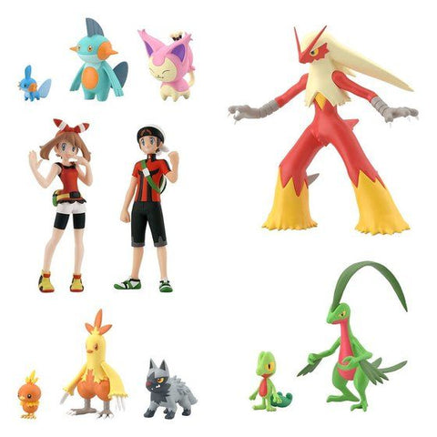 Pokemon Scale World Hoenn Set