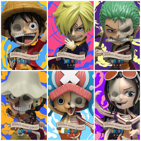 Mighty Jaxx Freeny's Hidden Dissectibles: One Piece Singles (Blind Box)