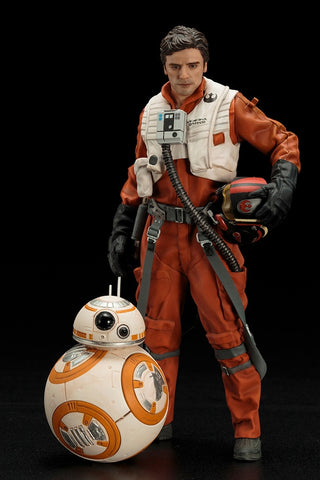 STAR WARS POE DAMERON & BB-8 TWO PACK THE FORCE AWAKENS