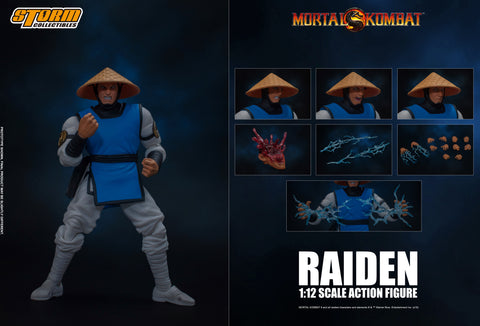 STORM COLLECTIBLES: Mortal Kombat - Raiden 1/12 Scale Figure