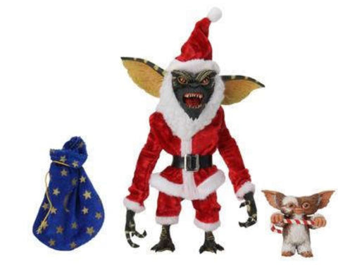 Gremlins Santa Stripe and Gizmo