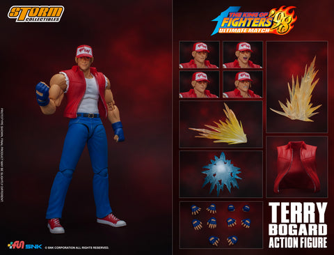 The King of Fighters '98 Terry Bogard 1/12 Scale Figure