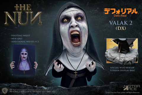 Star Ace: Defo Real The Nun - Valak  Deluxe (Open mouth)