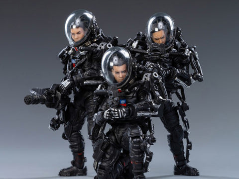 The Wandering Earth United Earth Government China Rescue Team 1/18 Scale Figure Set