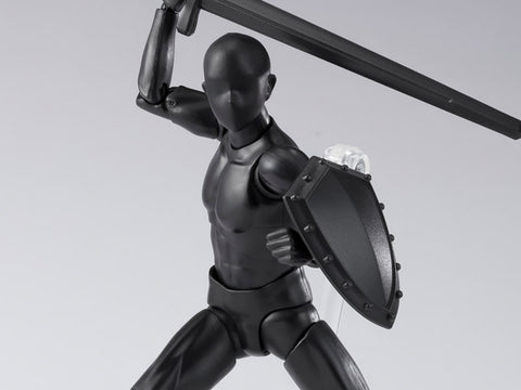 S.H.Figuarts DX Body-kun DX SET 2 (Solid Black Color Ver.)