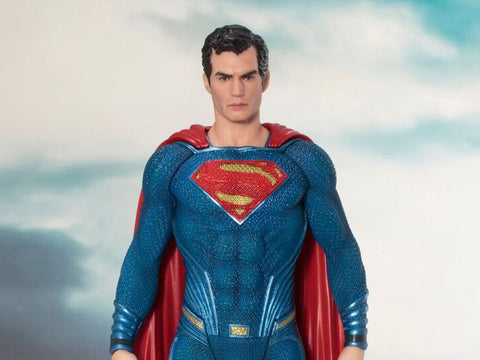 Justice League Movie Superman ARTFX+ Statue - GeekLoveph