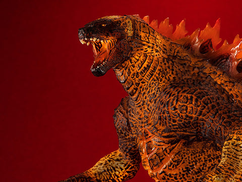 Godzilla: King of the Monsters UA Monsters Burning Godzilla