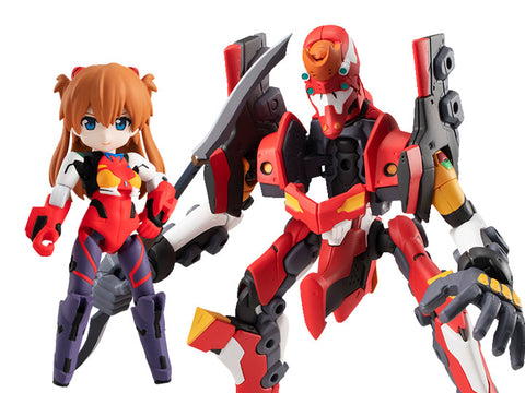 Rebuild of Evangelion Desktop Army Asuka and Unit-02 (3.0 + 1.0)