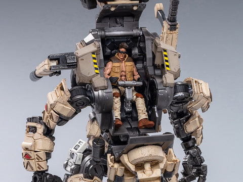 Dark Source Steelbone Armor (Desert) With Pilot 1/24 Scale Set