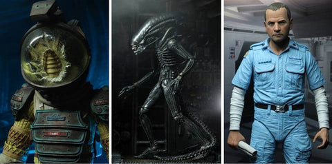 Alien 40th Anniversary Assortment 3 Set of 3 Figures