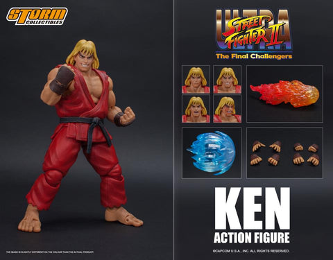 Storm Collectibles: Street Fighter II Ken 1/12 Scale