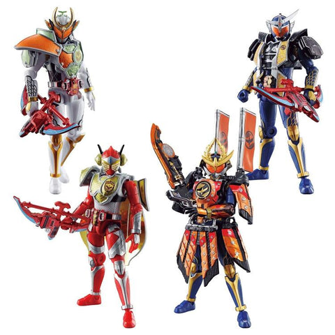 Kamen Rider So-Do Chronicle Kamen Rider Gaim 2 Box of 10 Figures
