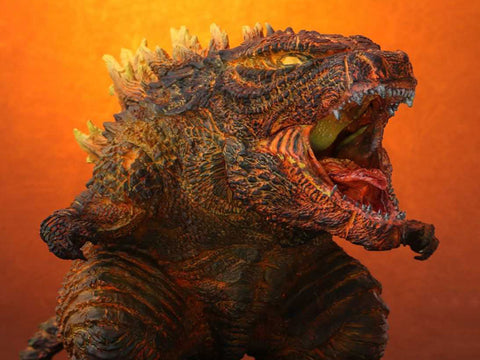 "X-PLUS DefoReal ""Godzilla: King of the Monsters"" Burning Godzilla (2019)"