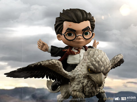 Harry Potter and Buckbeak MiniCo Illusion