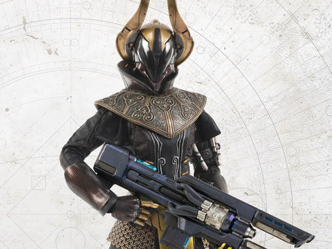 Threezero: Destiny 2 Warlock Philomath Calus's Golden Trace Shader 1/6 Scale