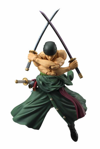 One Piece Variable Action Heroes Roronoa Zoro reissue