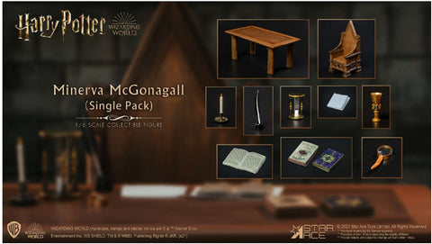 Minerva Desk Single Pack 1/6 Scale