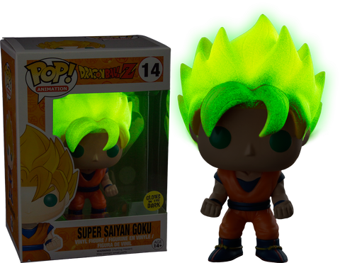 Dragonball Z Super Saiyan Goku Funko Pop! (Glow in the dark)