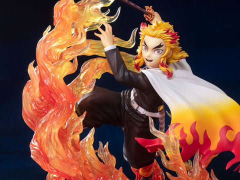 Demon Slayer: Kimetsu no Yaiba FiguartsZERO Kyojuro Rengoku Flame Breathing