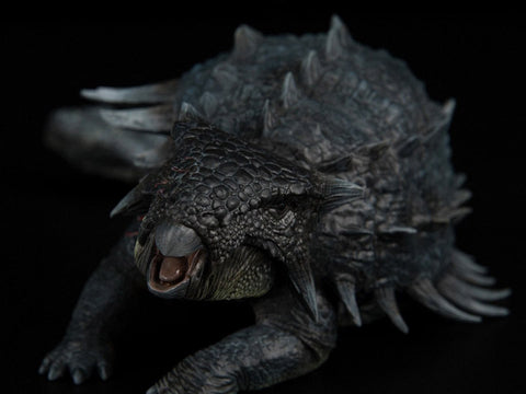 Jurassic Series Ankylosaurus Mace (Wounded) 1/35 Scale Figure