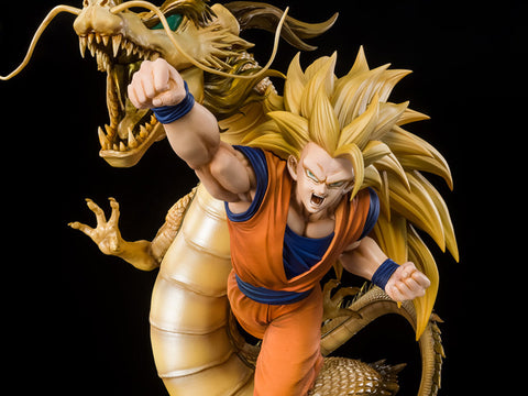 Dragon Ball Z FiguartsZERO SSj3 Son Goku Dragon Fist Explosion