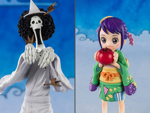One Piece FiguartsZERO Brook (Honekichi) and O-Tama