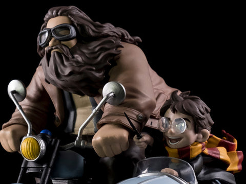 Harry Potter Q-Fig Max Harry Potter & Rubeus Hagrid